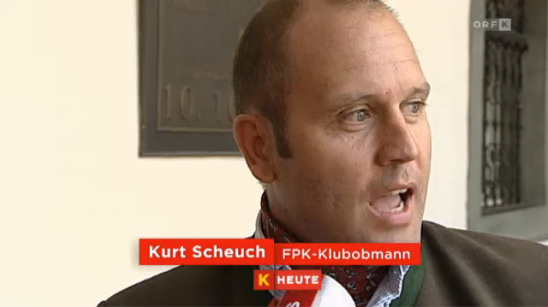 Kurt Scheuch (FPK) • Quelle: ORF.at Kärnten