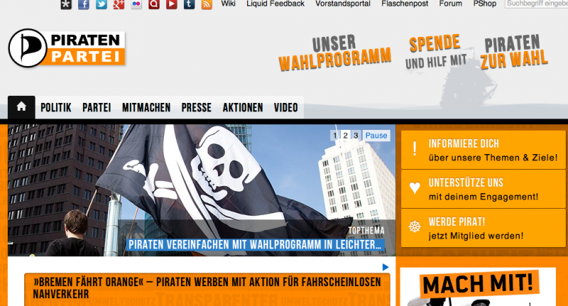 Piratenpartei Deutschland (PIRATEN)